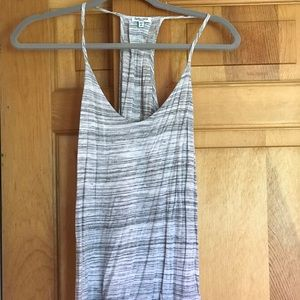 Small splendid light striped tank top